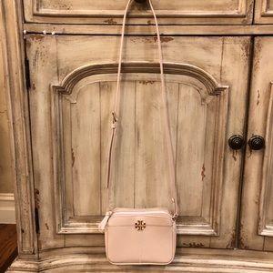Pale Pink Tory Burch Camera Bag- EUC